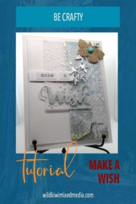 pinterest pin make a wish handmade card tutorial