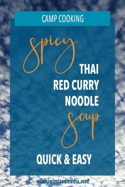 PIN for spicy thai red curry noddle soup