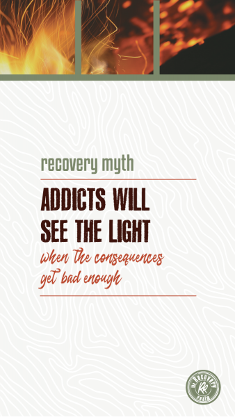 recovery myth consequences addicts