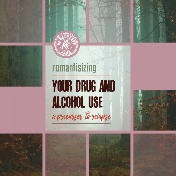 romanticizing alcohol and drug use