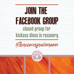 join the FB group the recoveryrealmroom sidebar