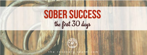 sober success the first 30 days cover