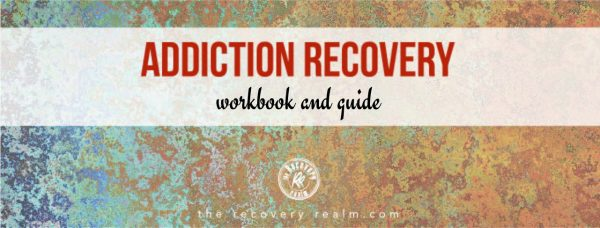 addiction recovery workbook product cover