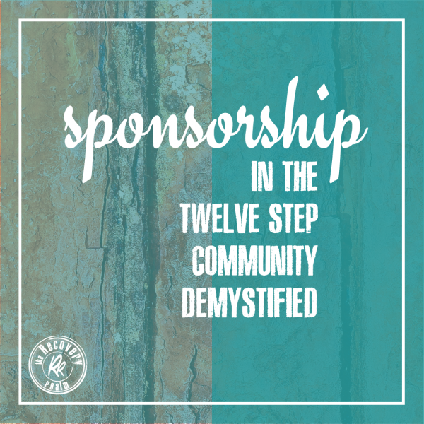 sponsorship in 12 step community