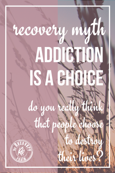 PIN recovery myth: addiction is a choice